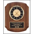 BC828 Walnut Wall Clock